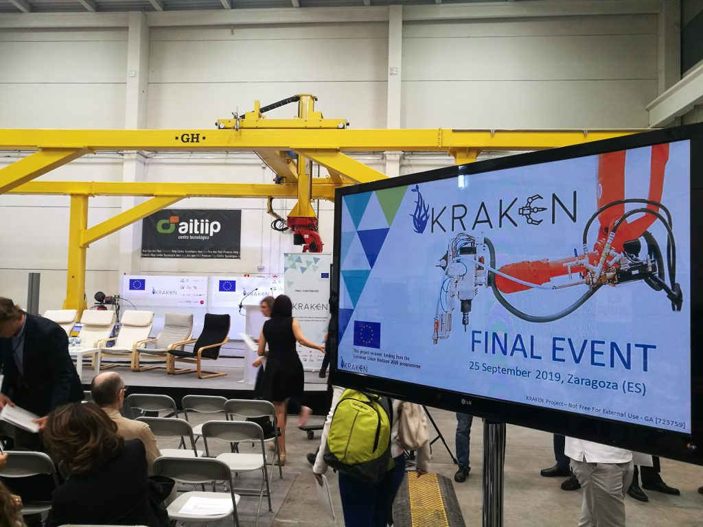 Presentación Brazo de fabricación aditiva KRAKEN